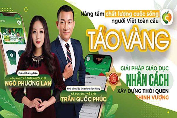 Đại sứ thương hiệu của Táo Vàng Hoa hậu Thế giới người Việt toàn cầu Ngô Phương Lan